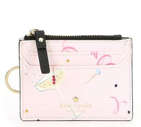 Kate Spade Dashing Beauty Cheers Lalena Card Holder