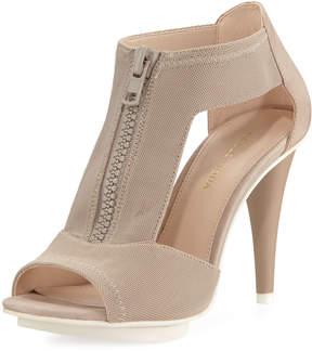 Pelle Moda Merit Dressy Nubuck-Trim Mesh Sandal