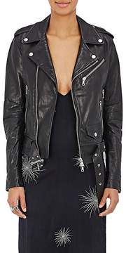 Amiri Women's Leather Moto Jacket
