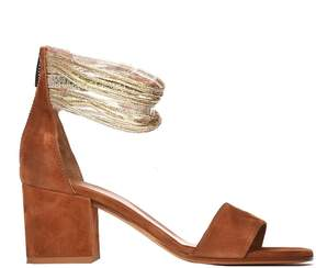 Janet & Janet Janet&janet Licia Brown Platinum Sandals