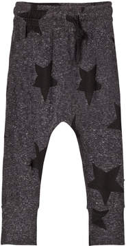 Nununu Charcoal Grey Star Baggy Leggings