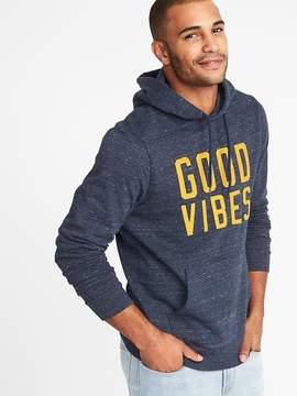 Old Navy Good Vibes Fleece Pullover Hoodie for Men