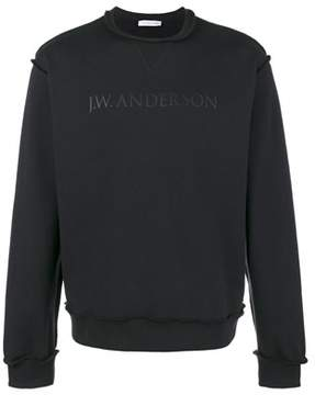 J.W.Anderson Men's Blue Cotton Sweatshirt.