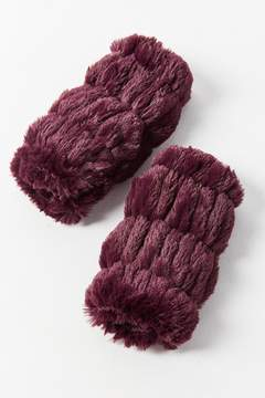 Urban Outfitters Faux Fur Fingerless Glove