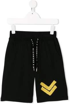 John Richmond Kids chevron shorts
