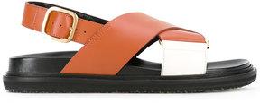 Marni Criss-Cross Fussbet sandals