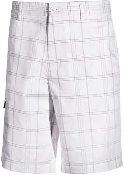 Greg Norman for Tasso Elba Men's Big & Tall Plaid Golf Shorts, Created for Macy's