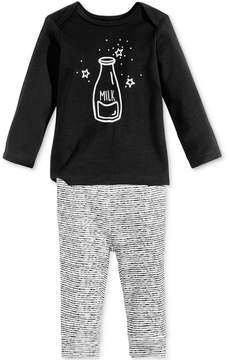 First Impressions 2-Pc. Milk Top & Leggings Set, Baby Boys & Girls (0-24 months), Created for Macy's
