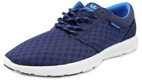 Supra Hammer Run Youth Round Toe Canvas Blue Running Shoe.