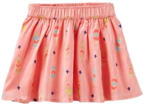 Osh Kosh Oshkosh Bgosh Girls 4-8 Floral Glitter Skirt