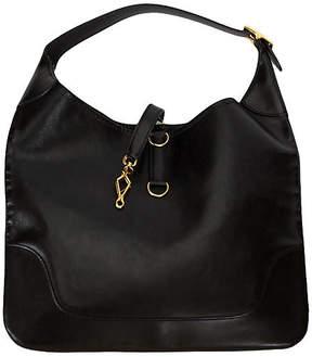 One Kings Lane Vintage Hermès Large Black Shoulder Bag