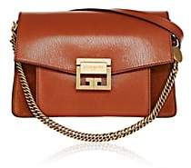 Givenchy Women's GV3 Leather & Suede Shoulder Bag-Chestnut