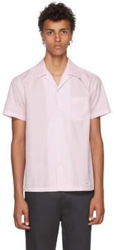 Wacko Maria Pink Open Collar Shirt