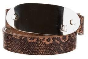 M Missoni Embossed Logo Waist Belt w/ Tags