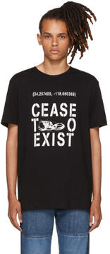 Noon Goons Black Cease To Exist T-Shirt