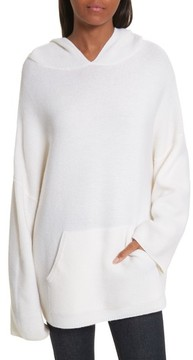 Allude Women's Virgin Wool & Cashmere Hooded Sweater