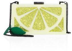 Alice + Olivia Cindy Lemon Clutch
