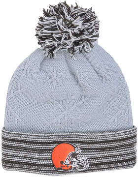 New Era Women's Cleveland Browns Snow Crown Redux Knit Hat