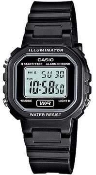 Casio Ladies' Digital Casual Watch, Resin Band
