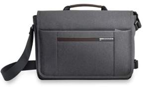 Briggs & Riley Men's 'Kinzie Street - Micro' Messenger Bag - Grey