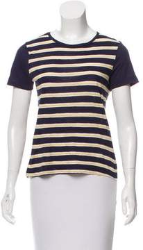Boy By Band Of Outsiders Striped Short Sleeve Top