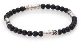 John Hardy Mult-Station Black Onyx Bracelet
