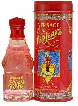 Versace Red Jeans Versus by EDT Spray 2.5 oz