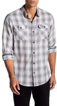 Burnside Plaid Long Sleeve Regular Fit Shirt