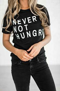 Ampersand Avenue Never Not Hungry Tee