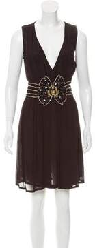 Antik Batik Embellished Sleeveless Dress