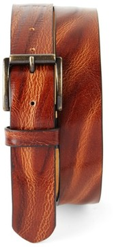 Tommy Bahama Men's Big & Tall Leather Belt