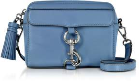 Rebecca Minkoff M.A.B. Leather Camera Bag - AZURE - STYLE