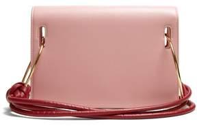 Roksanda Dia Leather Shoulder Bag - Womens - Pink Multi