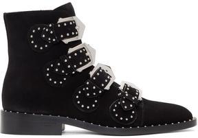 Givenchy Black Suede Elegant Boots