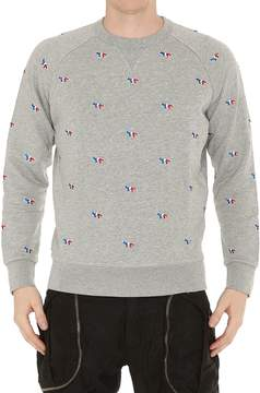 MAISON KITSUNÉ All Over Logo Sweatshirt