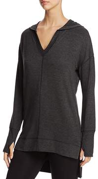 Andrew Marc Performance Hooded V-Neck Pullover