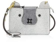 Anya Hindmarch Small Husky Leather Crossbody Pouch