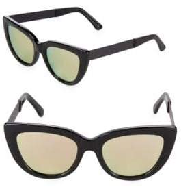 Cat Eye 54MM Laura Tinted Cat-Eye Sunglasses