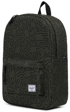 Herschel Men's Winlaw X Keith Haring Backpack - Green