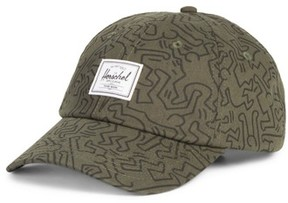 Herschel Men's Sylas Keith Haring Baseball Cap - Green