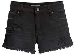BP Fray Hem Denim Shorts