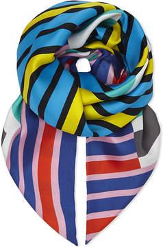 Diane von Furstenberg Stripe silk scarf