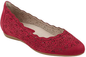 Earthies Women's Lindi Perforated Flat