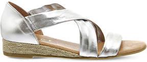 Office Hallie metallic-leather sandals