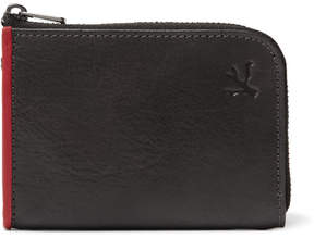 Isaia Leather Zip-Around Wallet