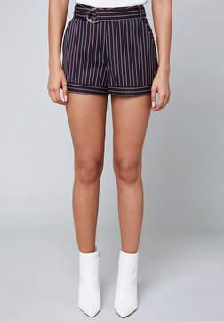 Bebe Anna Striped Shorts