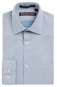 Michael Kors Boys Printed Dress Shirt
