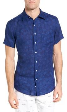 Rodd & Gunn Men's Hampton Downs Sports Fit Linen Sport Shirt