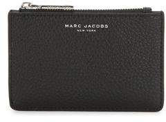 Marc Jacobs Gotham Leather Wallet - FRENCH GREY - STYLE