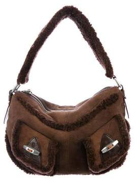 Marc by Marc Jacobs Shearling Pocket Hobo